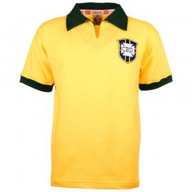 Brazil 1960's classic soccer jersey