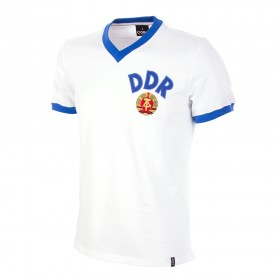 East Germany DDR Away 1974's World Cup Vintage Shirt