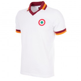 AS Roma Retro Polo Shirt 1980-81