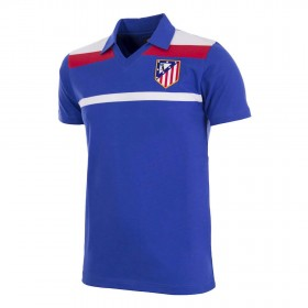 Atletico Madrid 1985-86 Third vintage football shirt