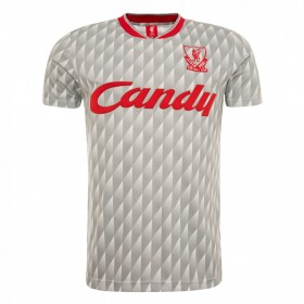Liverpool FC Retro Shirt 1989-90 | Grey