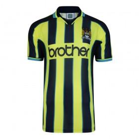 Manchester City 1999 Wembley Retro Shirt