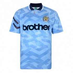 Manchester City 1992 vintage football shirt