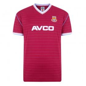West Ham Vintage shirt 1985/86