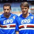 UC Sampdoria 1991/92 Retro Shirt Vialli Mancini