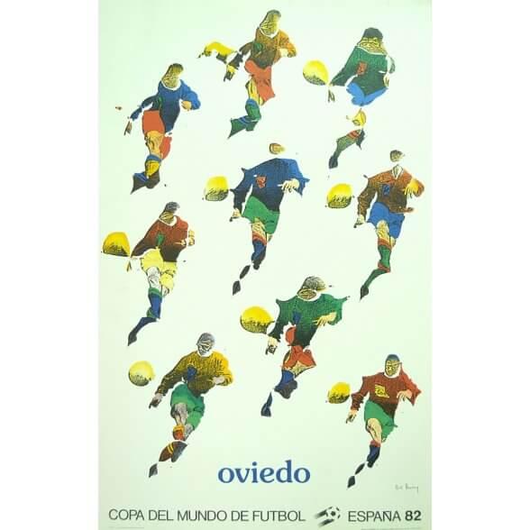 Cartel Oficial de Oviedo - De Volea de Bury