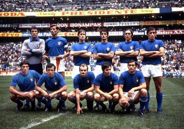 Italian national football team in 1970