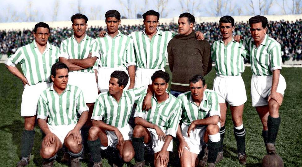 El Equipo de los Campeones del Real Betis 1935