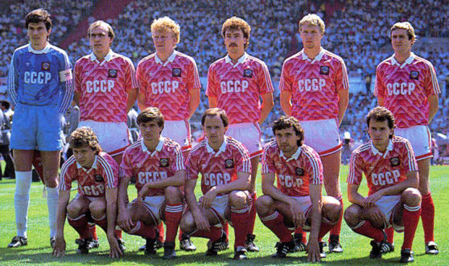 Team of the Soviet Union (CCCP) 1988, finalist of the Euro.