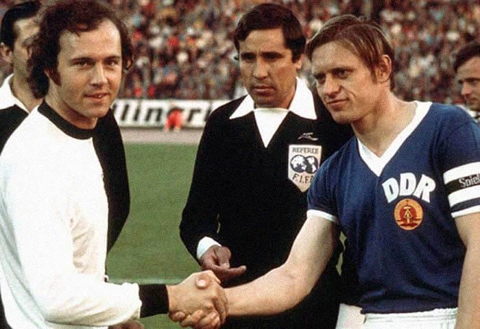 Bernd Bransch and Beckenbauer World Cup 1974