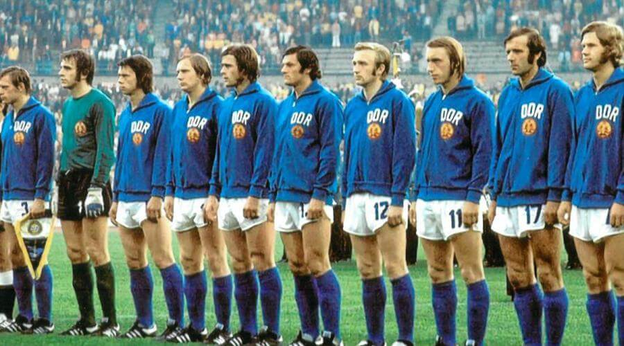 East Germany (DDR) World Cup 1974