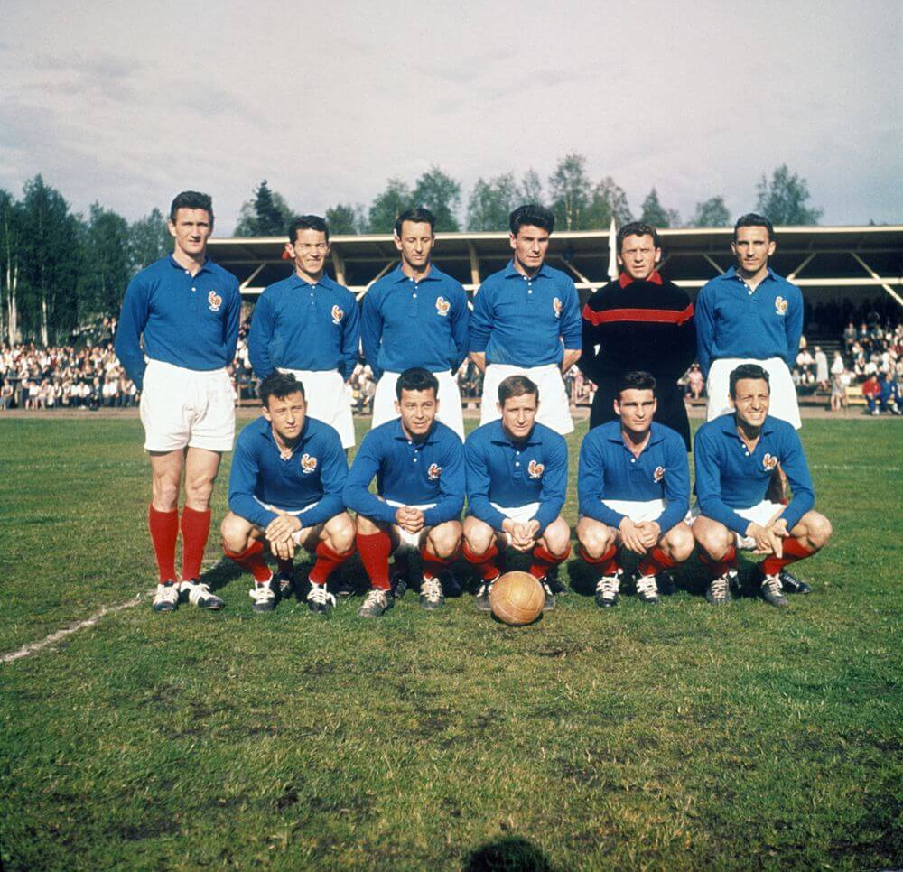 France national team 1950s