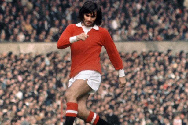 George Best Manchester United shirt
