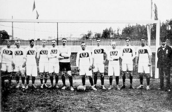 German National football Team at 1912 Summer Olympics