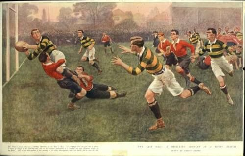 Rugby vintage shirts