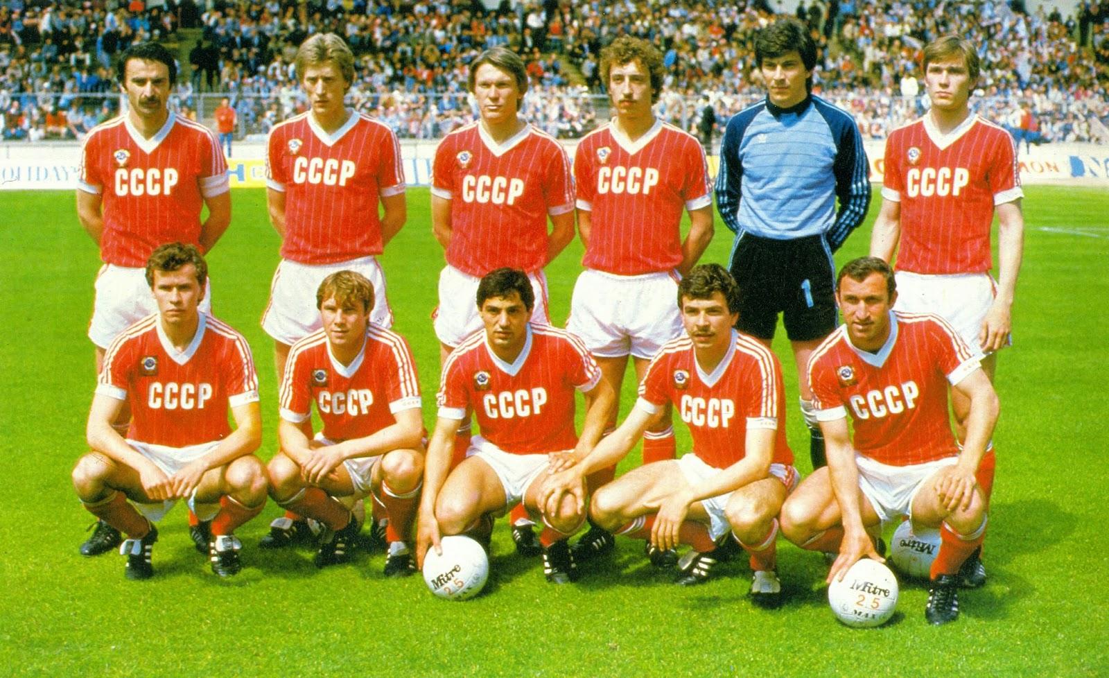 Selección y Camiseta Unión Soviética Mundial 82