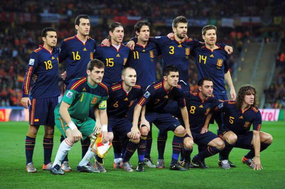 Spain 2010 - World Cup Champions