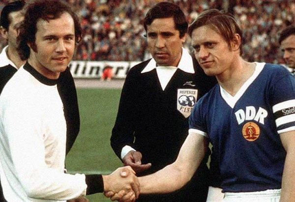 West Germany vs East Germany at 1974 World Cup
