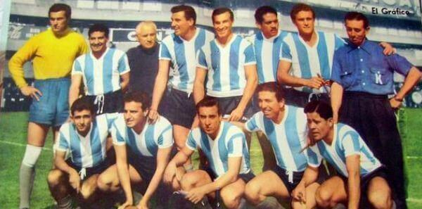 Argentina national football team 1958