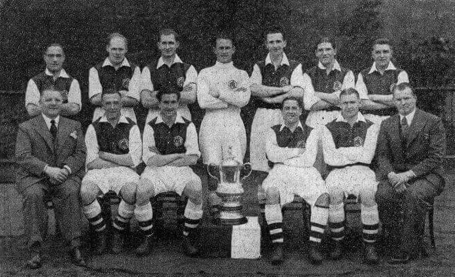 Arsenal 1935/36 Team FA Cup