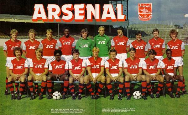 Arsenal FC 1982-83 team