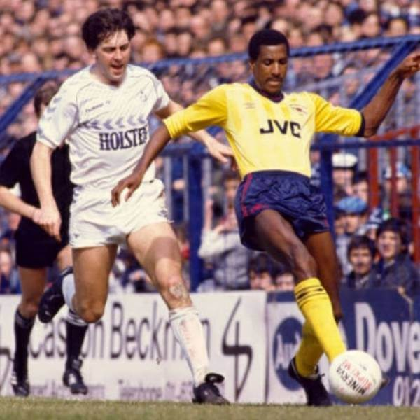 Arsenal 1985-86 away