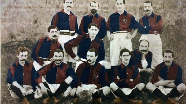Barcelona FC club's founding squad