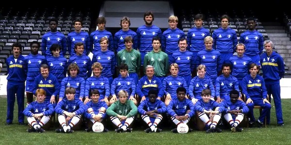Chelsea FC 1984 Team