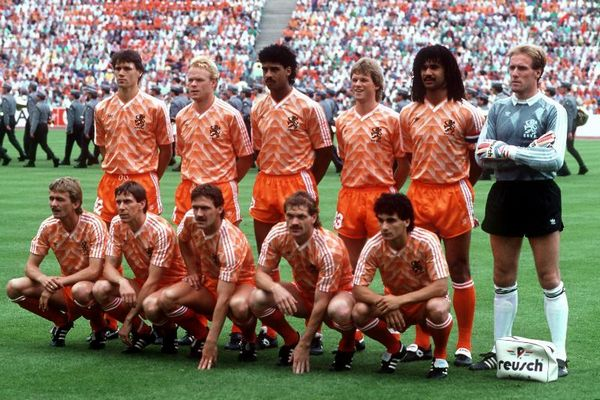 Holland National Team at 1988 European Championsip