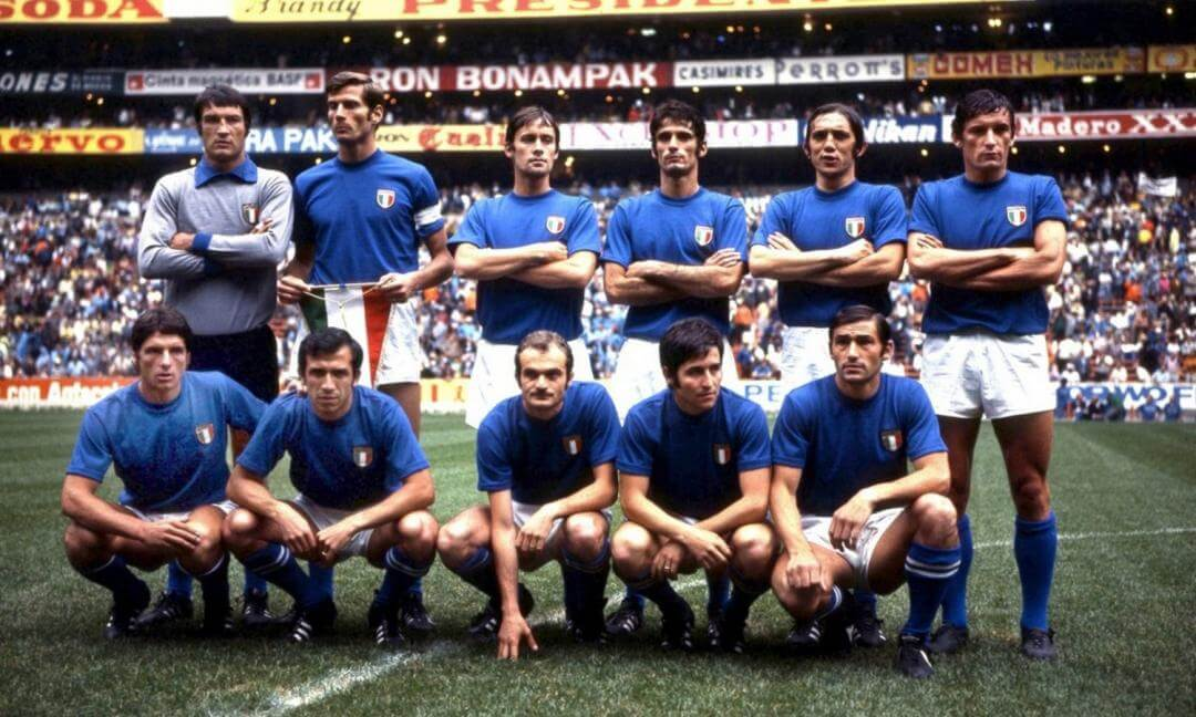 Italian national team at Mexico 1970 World Cup