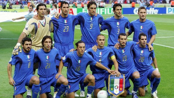 Italian national football team at 2006 World Cup