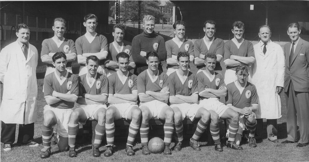 Liverpool FC Team in 1955