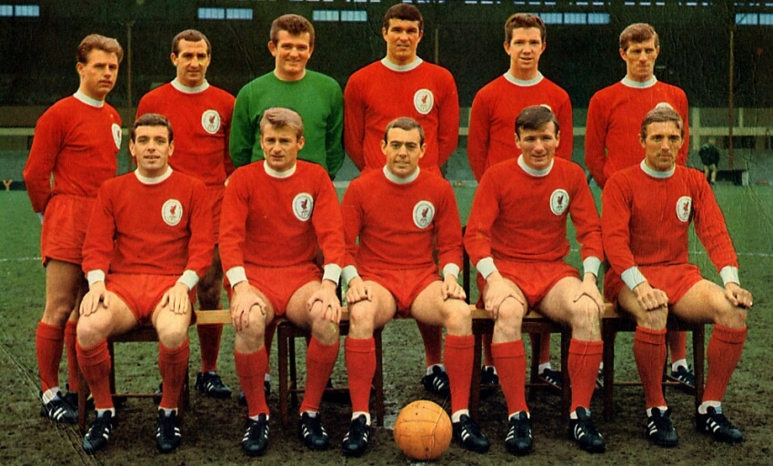 Liverpool FC Team in 1965