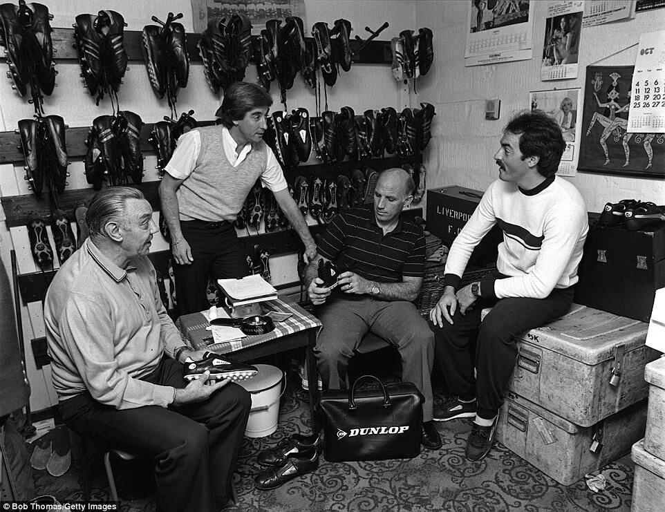 The Boot Room established by Bill Shankly: Reds traditions