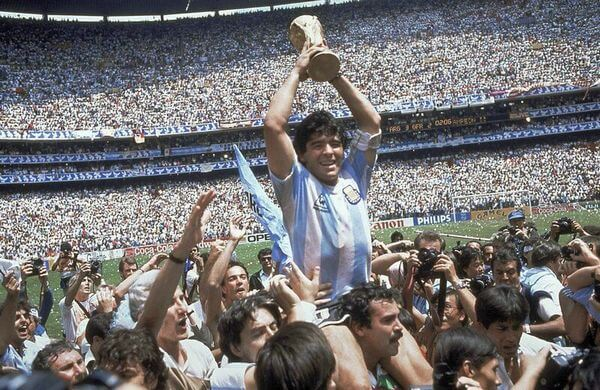 Diego Maradona, Argentina Team, World Champion in Mexico 1986