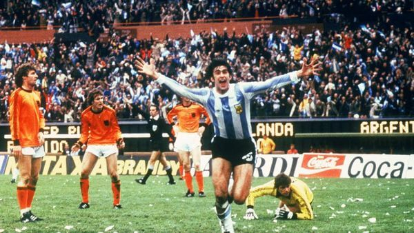 Mario Kempes 1978 World Cup Argentina