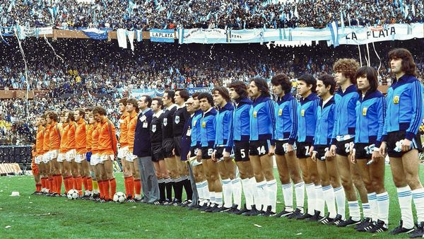 Holland National Team at 1978 World cup
