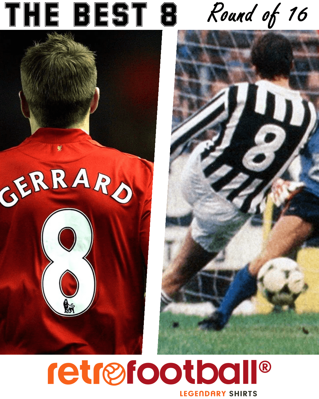 Mejor numero 8 - Gerrard-Tardelli