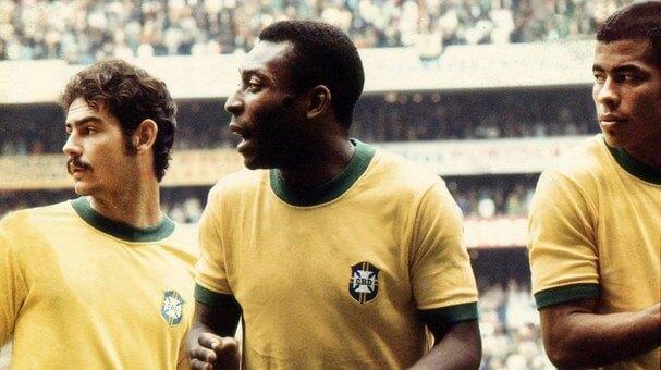 Pelé Brazil 1970
