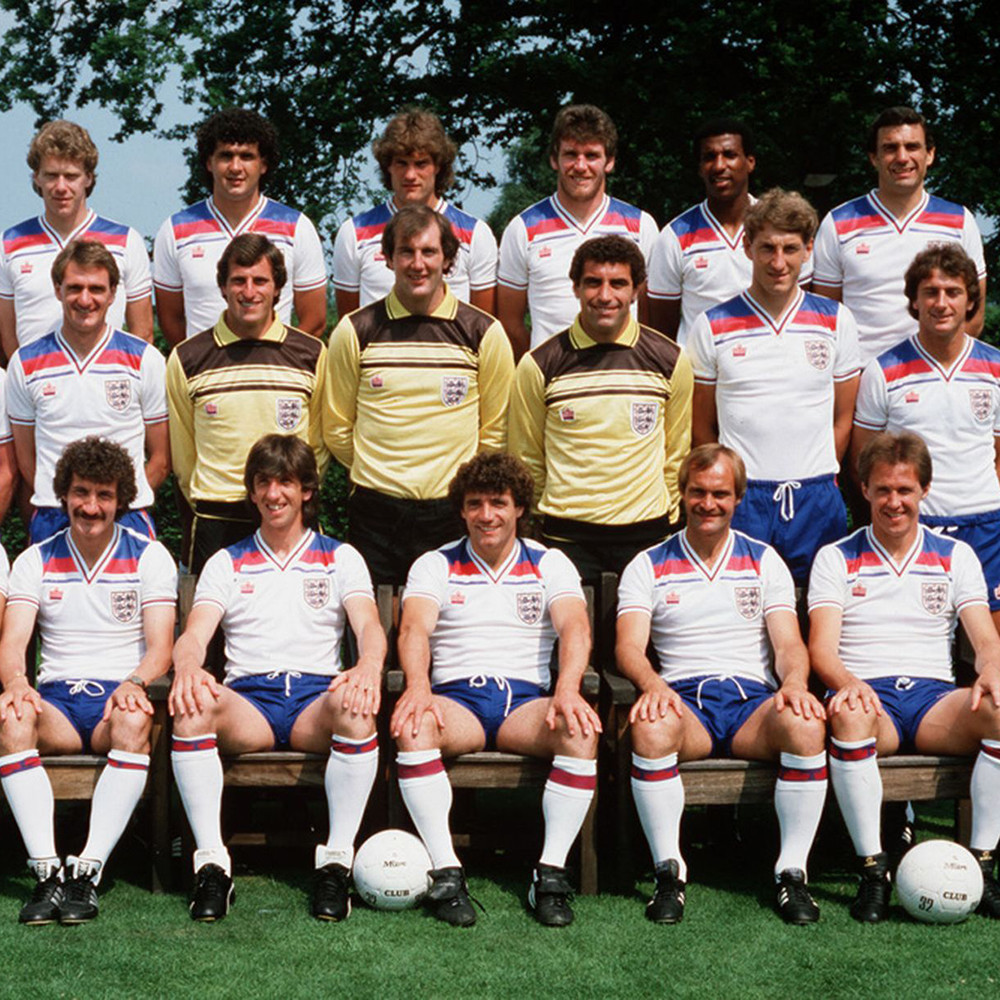 Selección Inglaterra 1982