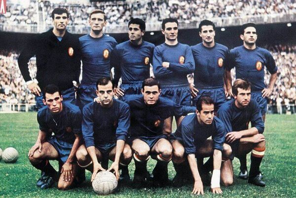 1964 Spain National Football Team at Eurocup 1964