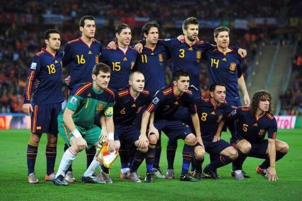 Spain National football team at 2010 World Cup