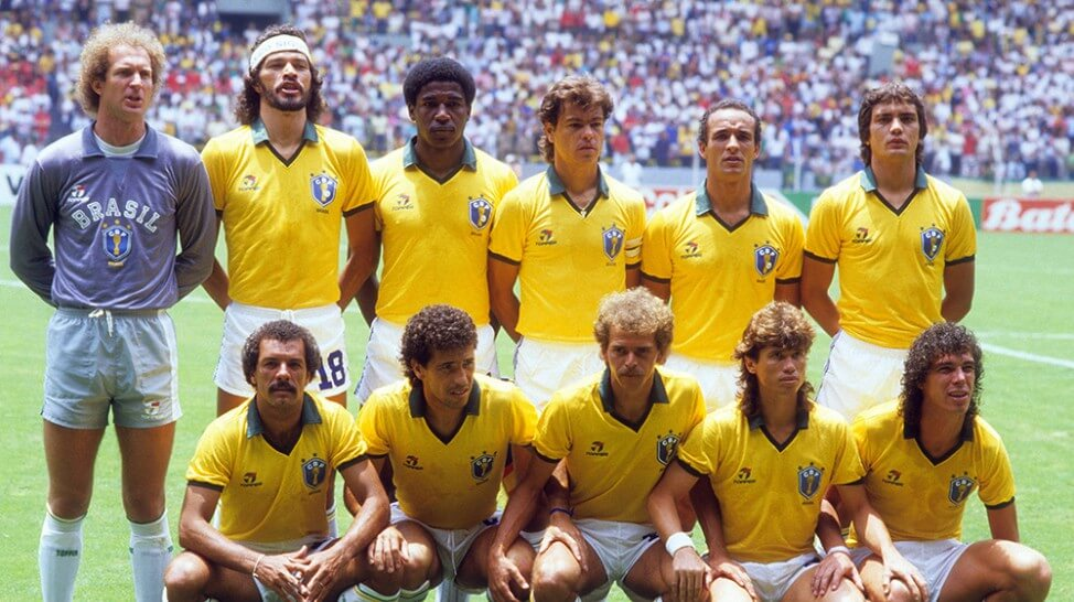 Team Brazil 1986 World Cup Mexico 86