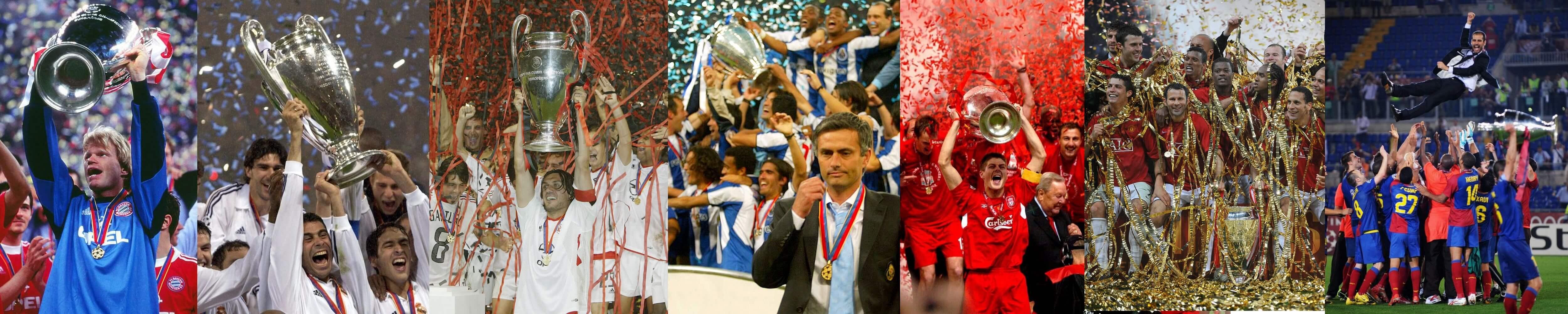 Champions League winners 2000s