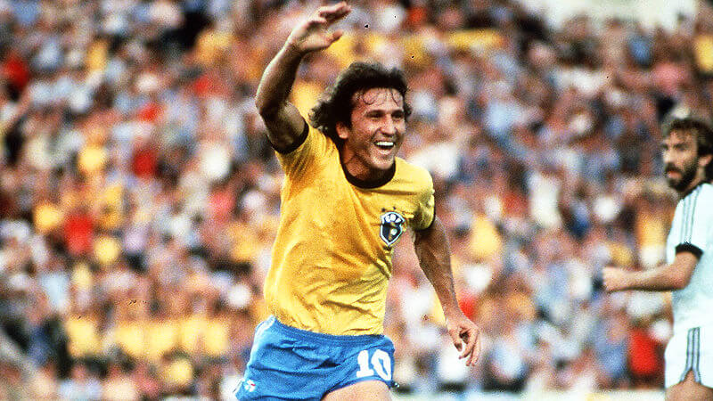 Zico Brazil World Cup 1986